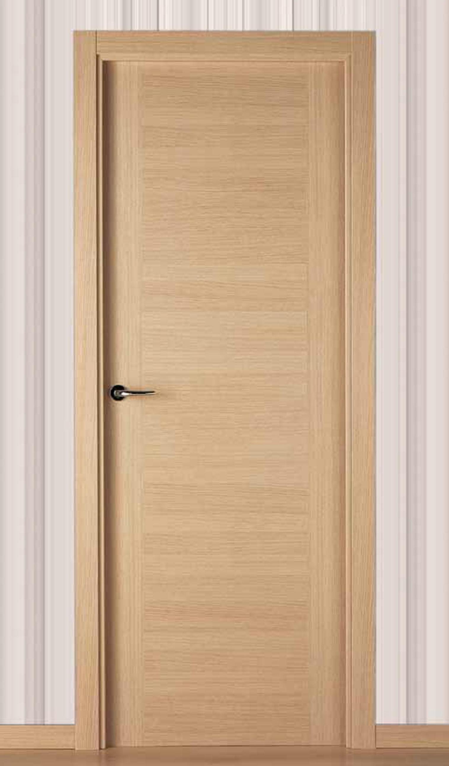 Fotos de puertas de interior puerta de nueva tendencia a for Precio puerta roble